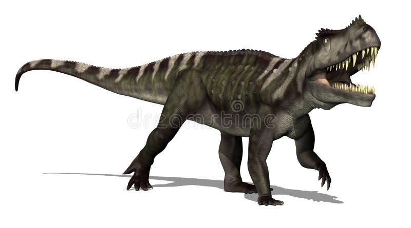 Dinossauro de Prestosuchus ilustração stock