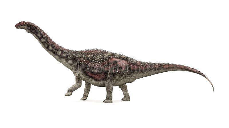 Dinossauro Diamantinasaurus ilustração stock