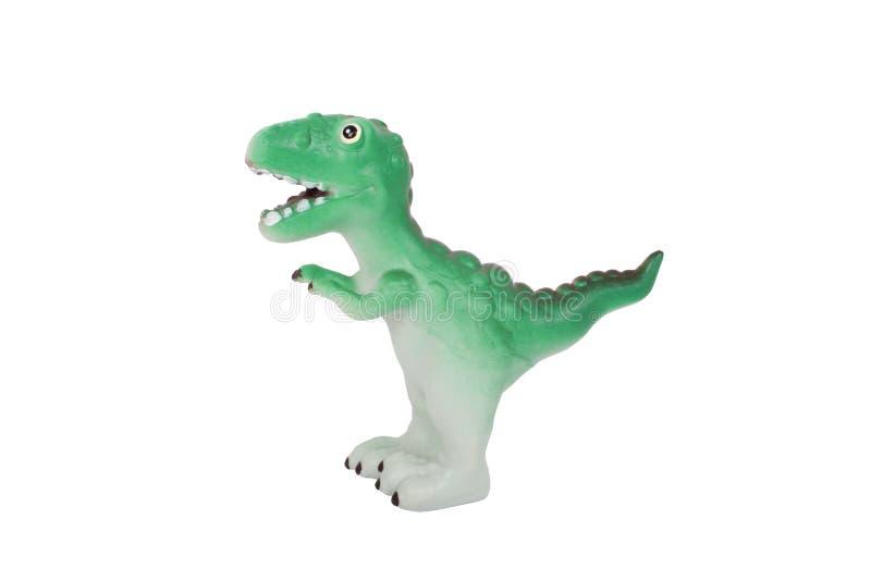 Dinossauro do brinquedo fotografia de stock