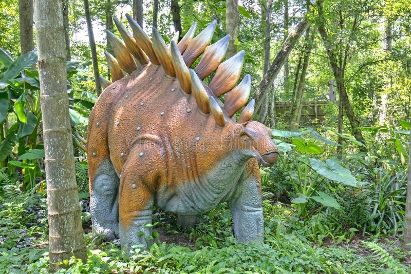 Dinossauro do Stegosaurus fotografia de stock royalty free