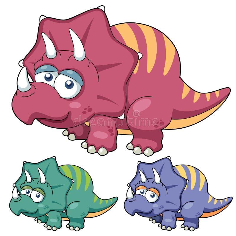 Dinossauro dos desenhos animados ilustração royalty free
