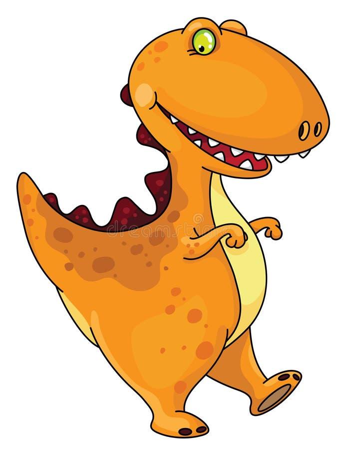 Dinossauro engraçado