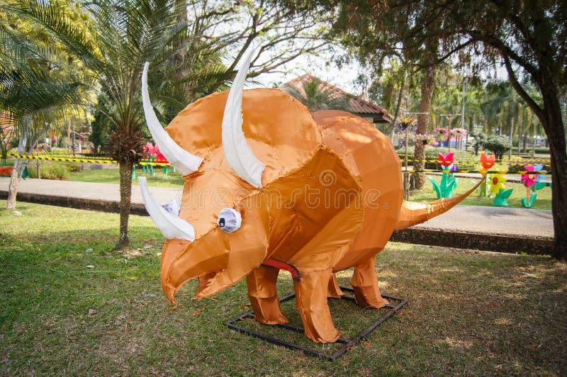 Dinossauro modelo imagem de stock