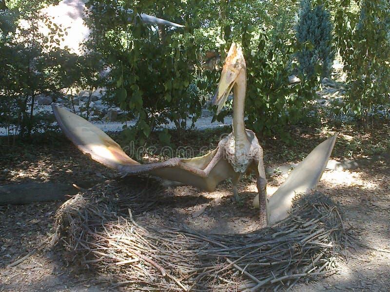 Dinossauro no dinopark foto de stock royalty free