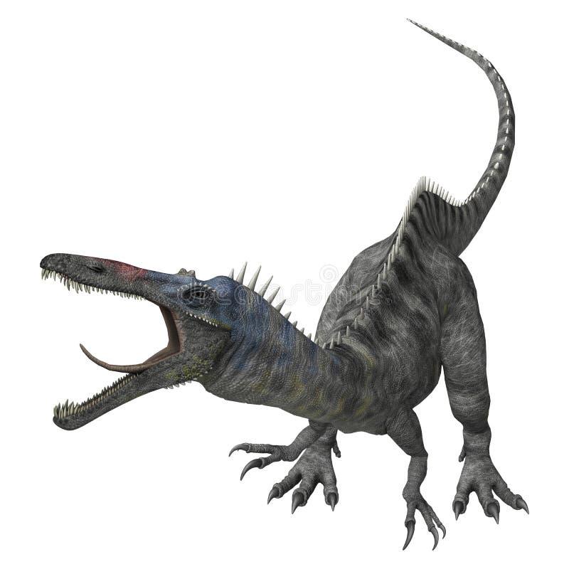 Dinossauro Suchomimus ilustração royalty free