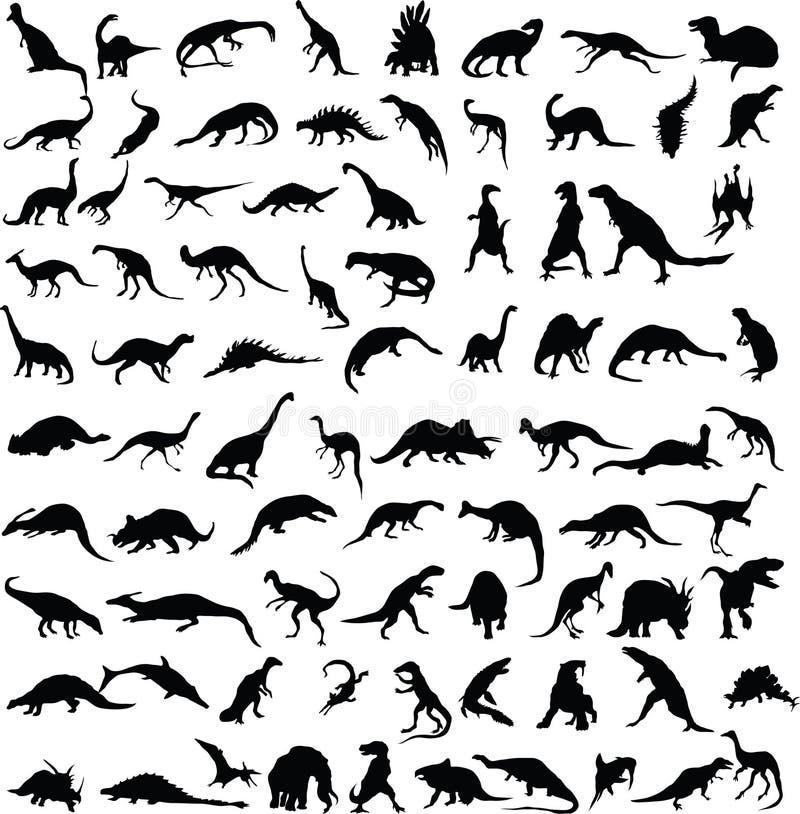 Dinossauros. ilustração do vetor