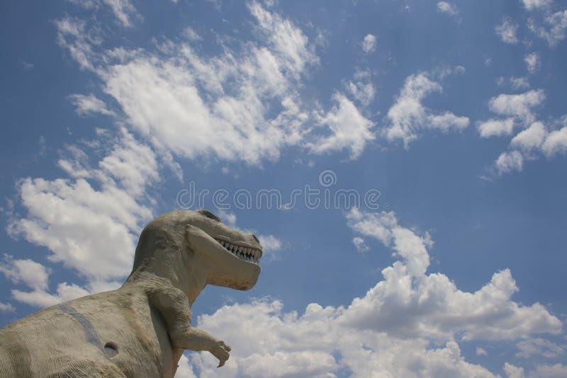 Dinossauros de Cabazon imagens de stock
