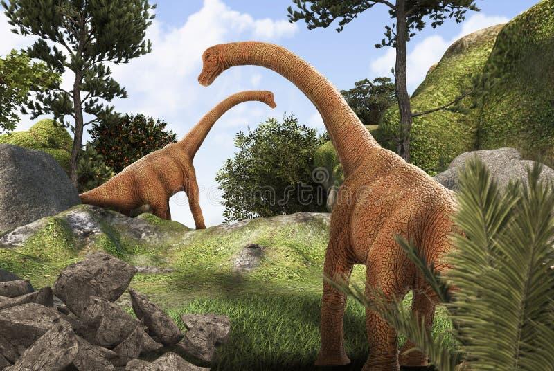 Dinosuar ilustracji