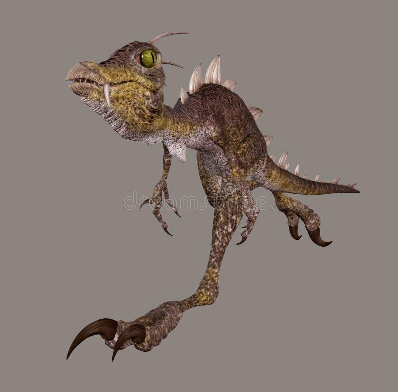 dinozaur ilustracja wektor