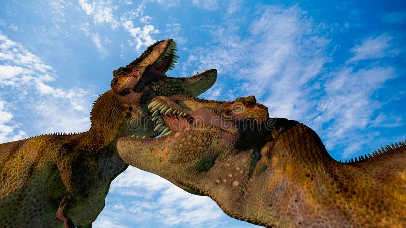 dinozaury 2 ilustracja wektor