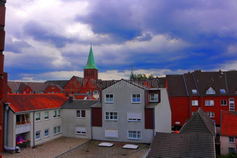 Dinslaken, Allemagne images stock