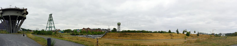 DINSLAKEN, Allemagne - 15/07/2019 : Héritage industriel à image stock
