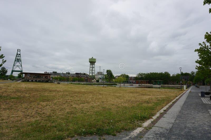 DINSLAKEN, Allemagne - 15/07/2019 : Héritage industriel à photographie stock libre de droits