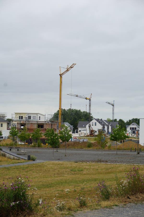 DINSLAKEN, Allemagne - 15/07/2019 : Région de construction près images libres de droits