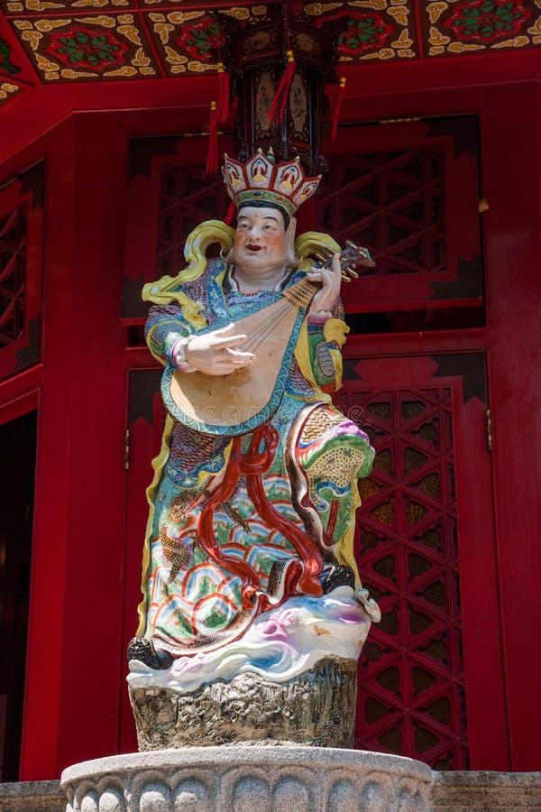 Dio di re Kong Wong Tai Sin Temple fotografia stock