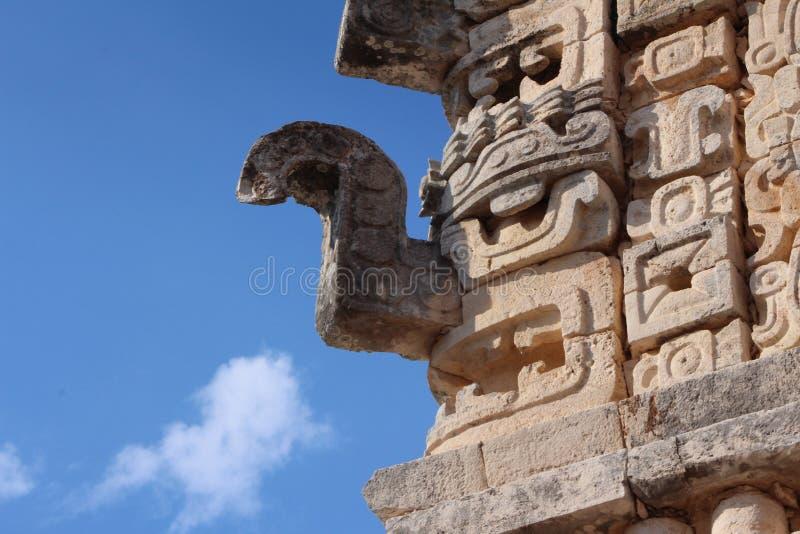 Dio maya del ` del chaac del ` della pioggia fotografia stock libera da diritti