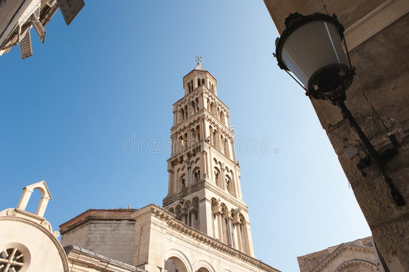Diocletan Palace, Unesco Heritage site in Split, Croatia stock photos