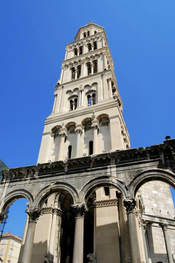 diocletian宫殿s 库存照片
