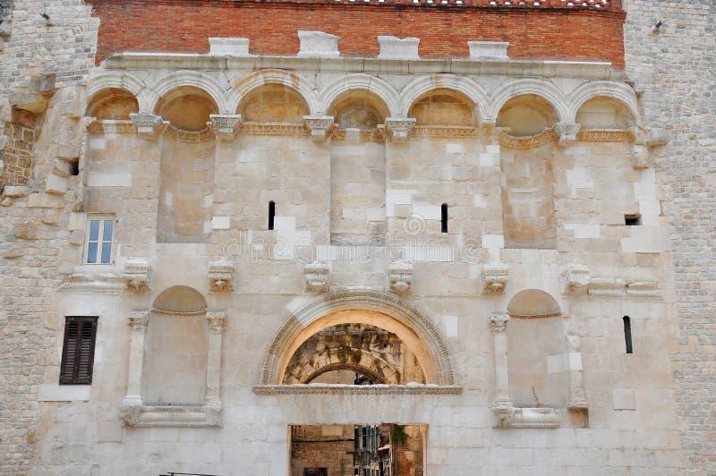 diocletian宫殿s 免版税库存照片