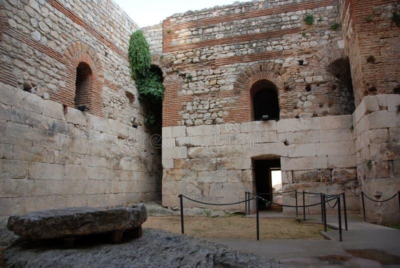diocletian宫殿s 免版税库存图片