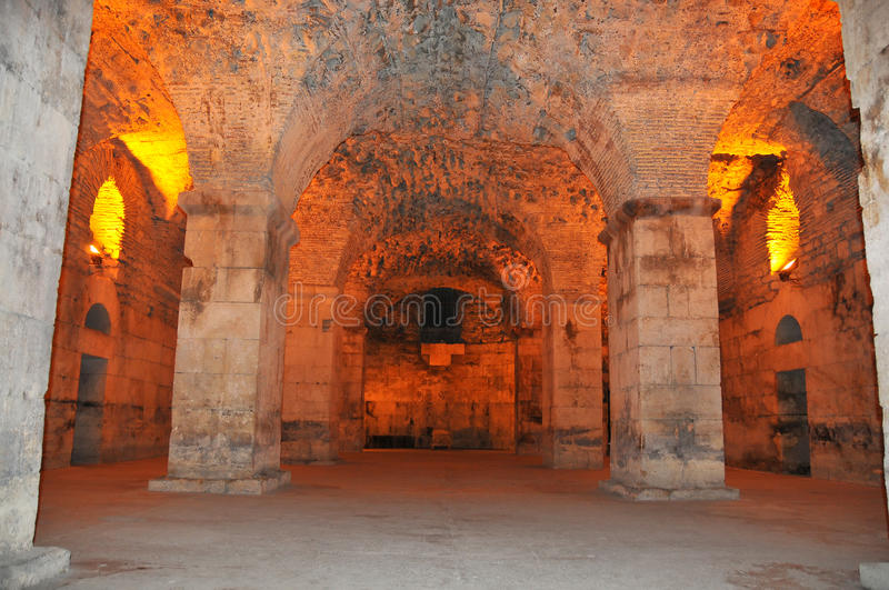 Download Diocletian's Palace stock photo. Image of palace, room - 20405826