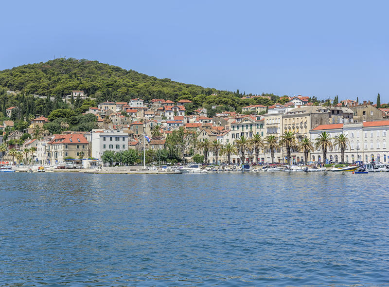 Diocletian`s Palace. Split, Croatia. royalty free stock images