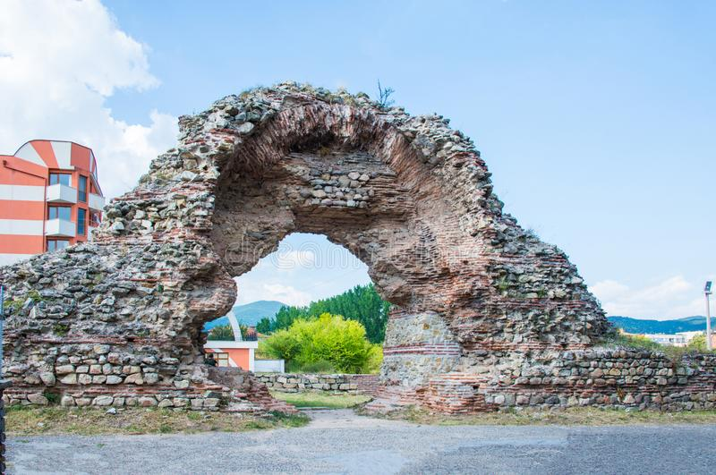 Diocletianopolis dans Hisarya en Bulgarie photo libre de droits