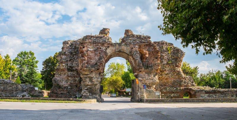 Diocletianopolis dans Hisarya en Bulgarie image stock