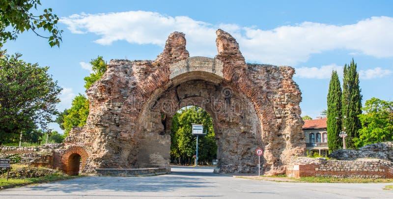 Diocletianopolis in Hisarya in Bulgarien stockfotografie