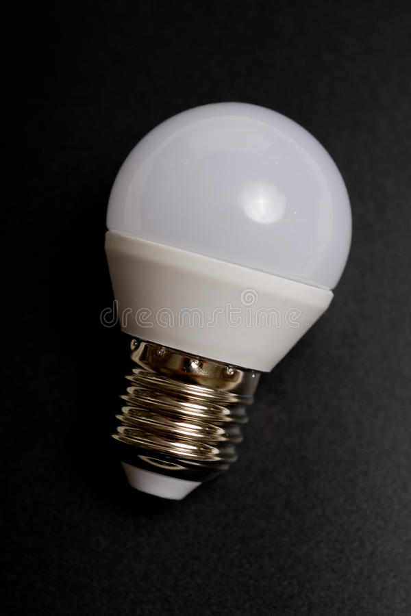 Diode bulb close up simple view stock photography