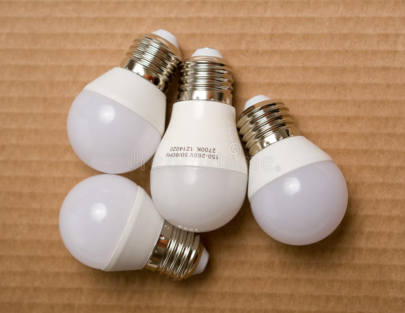 Diode bulb closeup simple composition royalty free stock images