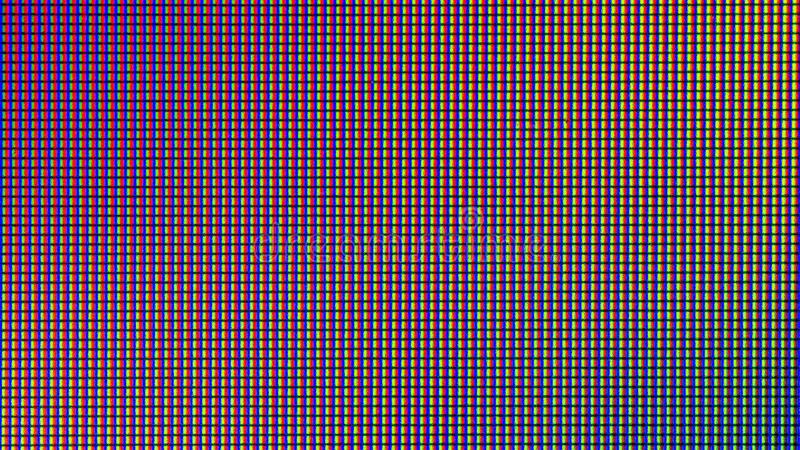 Diodo del bulbo de las luces LED del primer pantalla de monitor del LED TV o del LED stock de ilustración