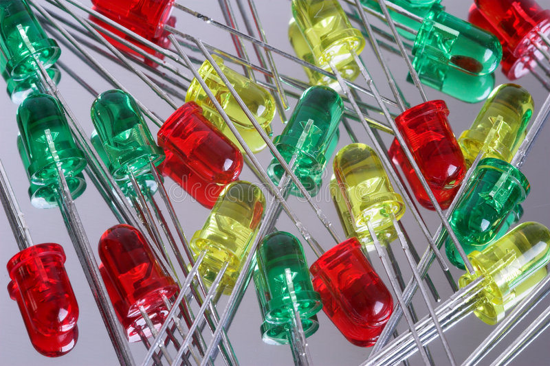 Diodo del LED fotografia stock libera da diritti