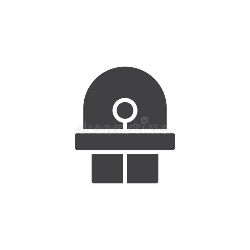 Diodo, vector llevado del icono libre illustration