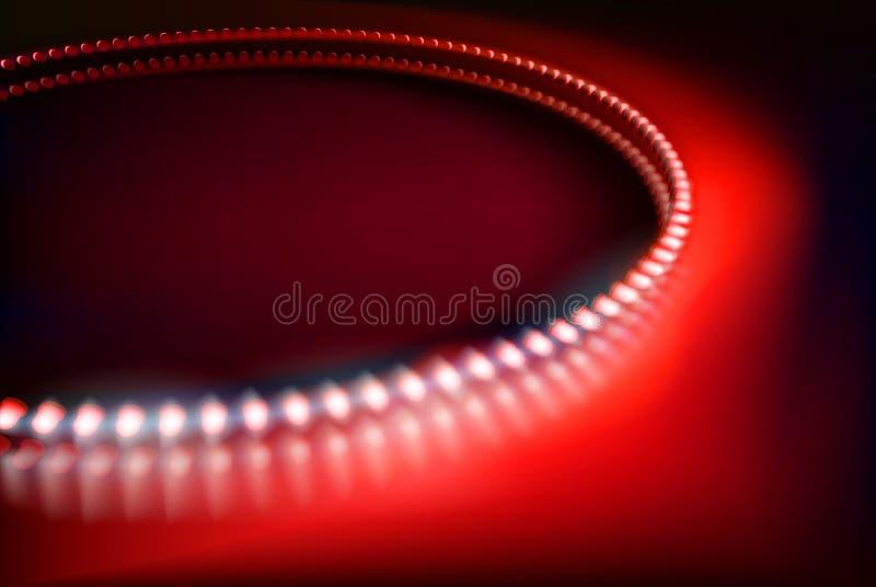 Diodos del LED Ilustración del vector stock de ilustración