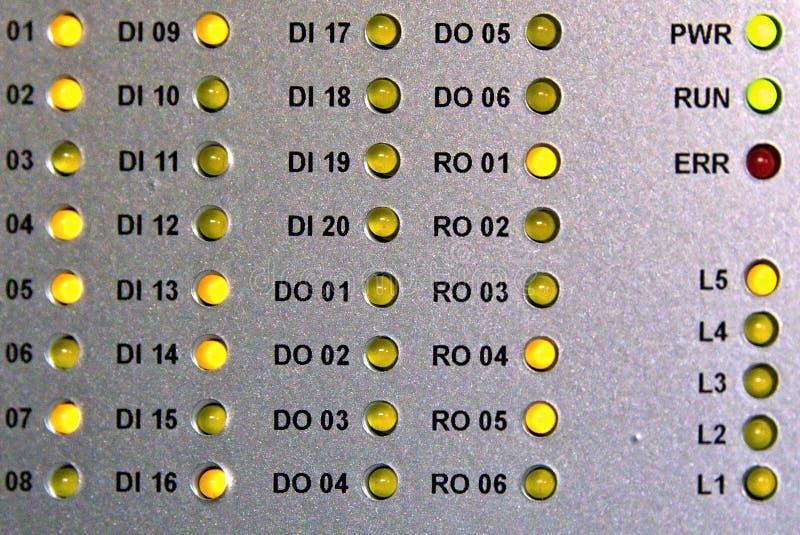Diodos do diodo emissor de luz foto de stock
