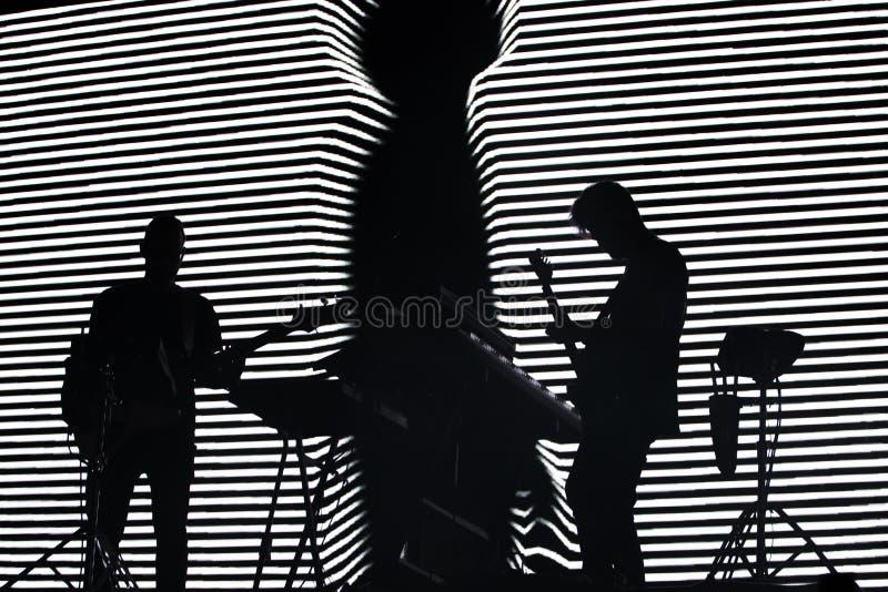 Diogo Piçarra artysty spełnianie na festiwalu muzyki zdjęcia royalty free