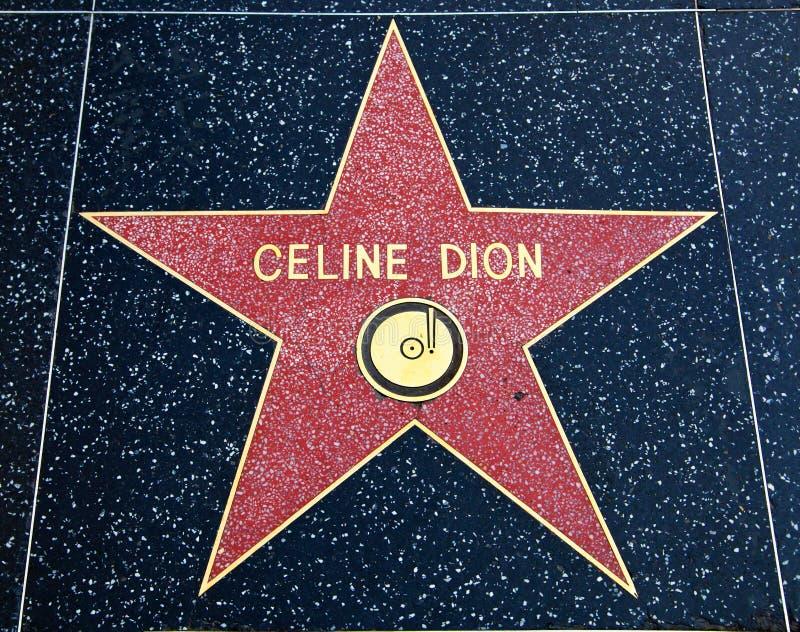 dion celine стоковое изображение rf