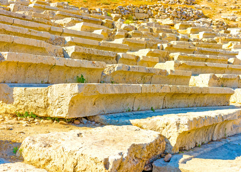 Dionysos Theater royalty free stock image