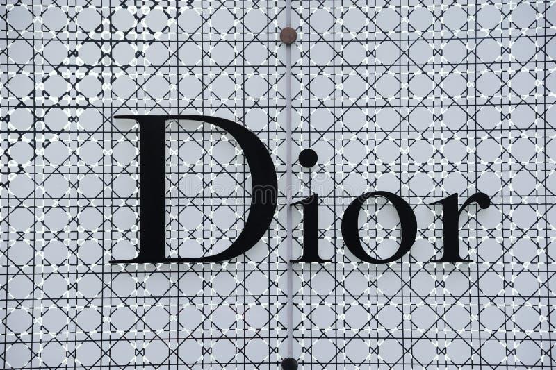 dior徽标 免版税库存照片