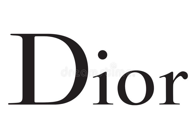 Dior logo ilustracji