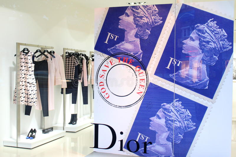 Dior - Luxury Fashion Brand Editorial Stock Photo