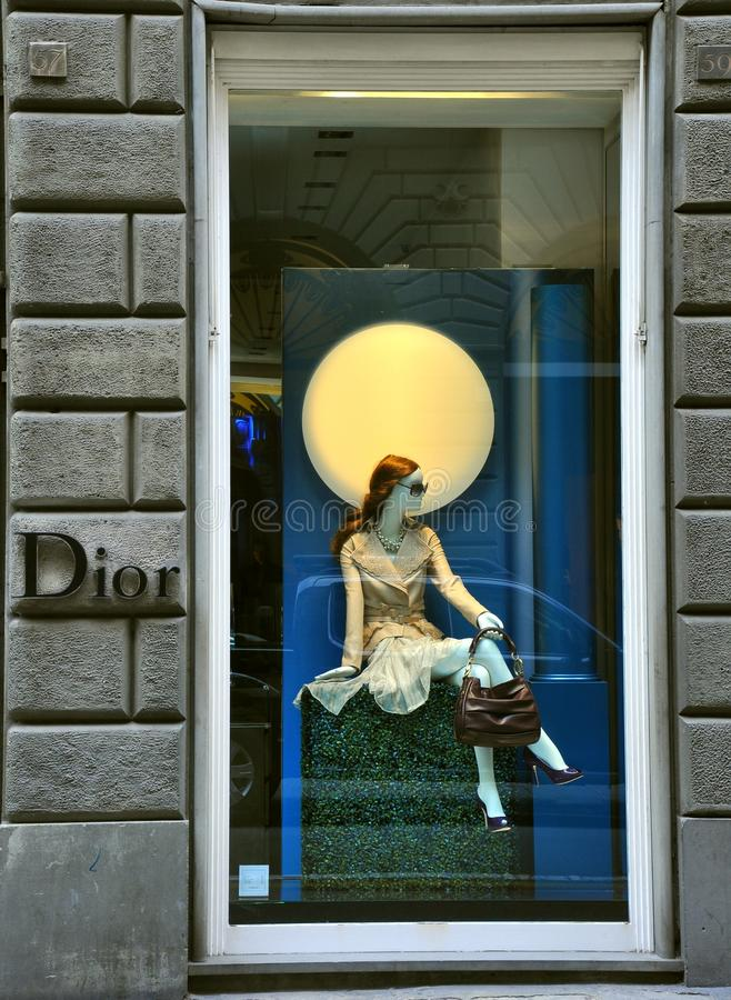 Download Dior Luxury Fashion Shop In Italy Editorial Stock Image - Image: 16641654