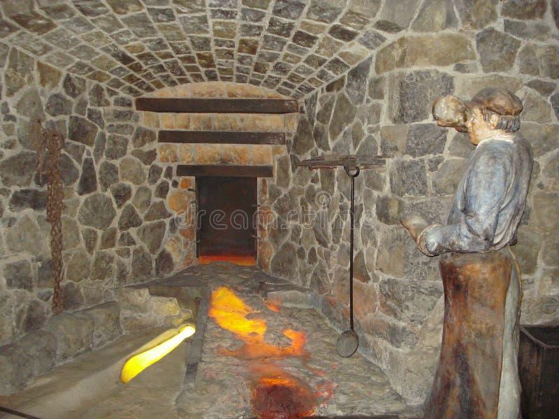 Diorama des cavernes image libre de droits