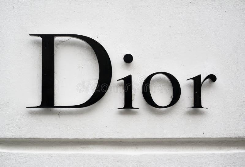 Diormerk stock fotografie
