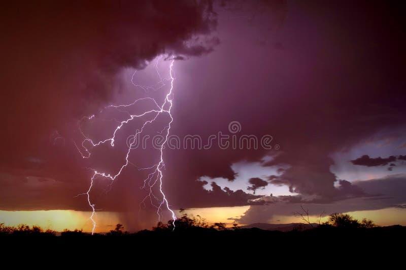 Dios de Glory Thunders fotos de archivo