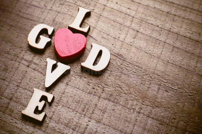 Dios es amor imágenes de archivo libres de regalías