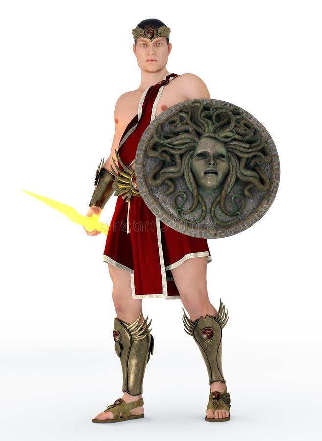 Dios griego Zeus, rey de dioses libre illustration
