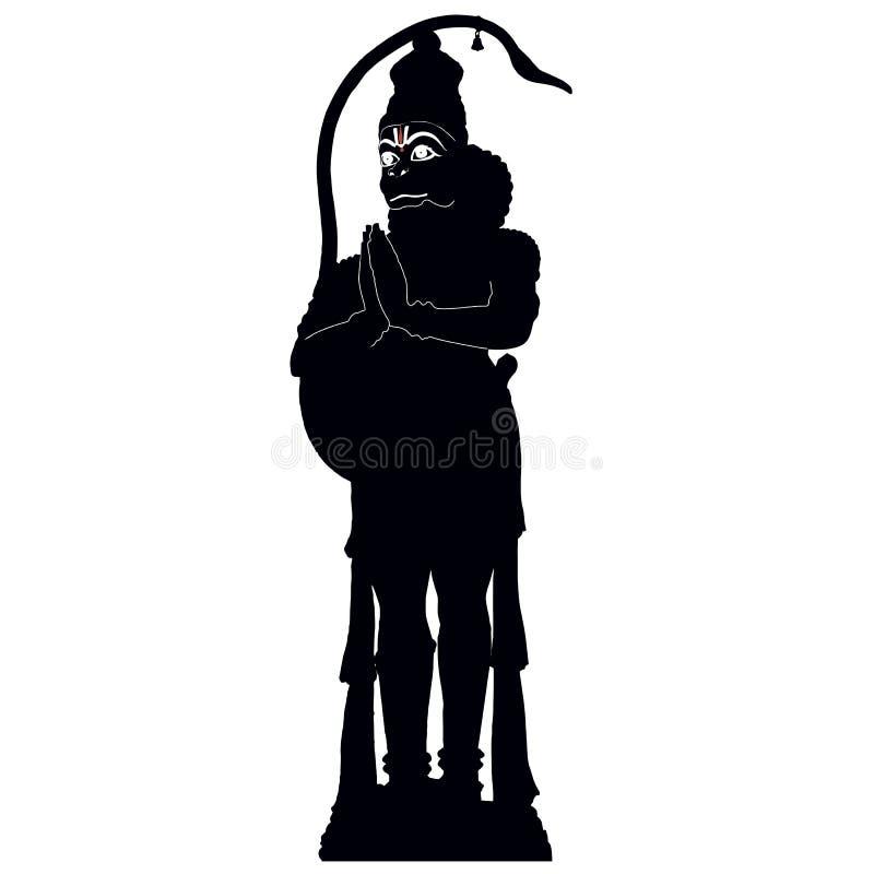 Dios Hanuman imagen de archivo