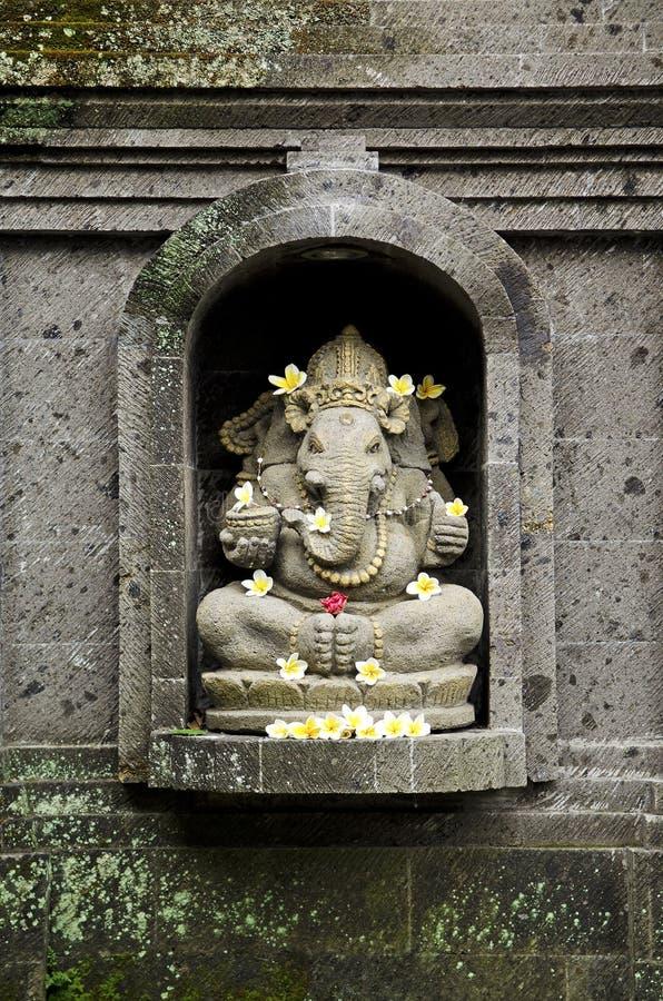 Dios hindú de Ganesh en bali Indonesia foto de archivo libre de regalías